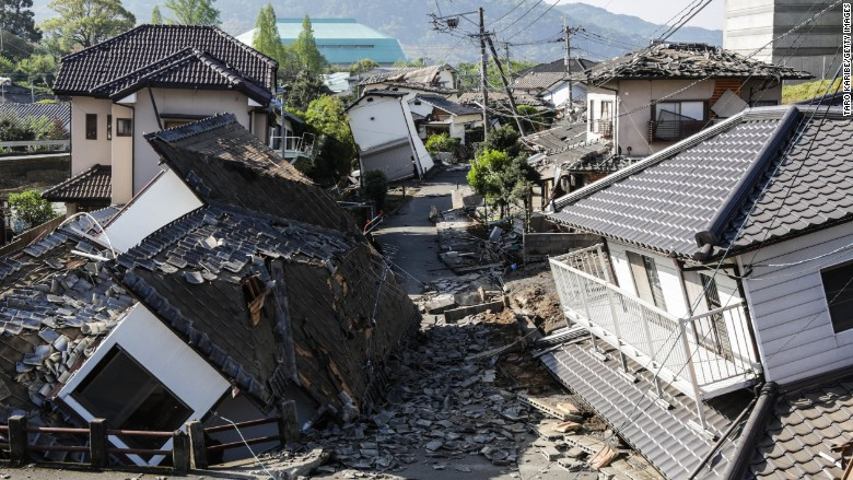 Recent Natural Disasters In Japan