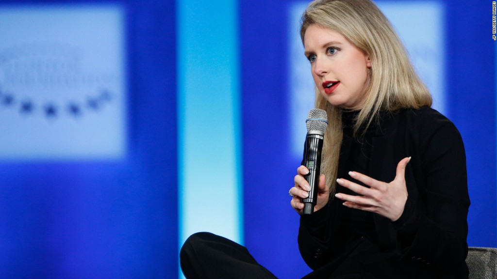 Theranos founder: From billionaire to 'nothing'