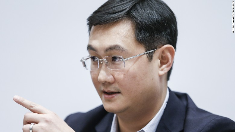 Tencent chief 'Pony' Ma is now China's richest man