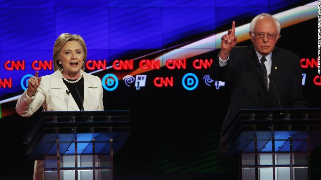 Bernie Sanders, Hillary Clinton battle over big banks