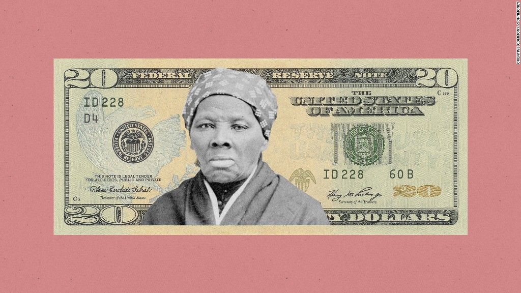 Harriet Tubman will be new face of the $20 bill