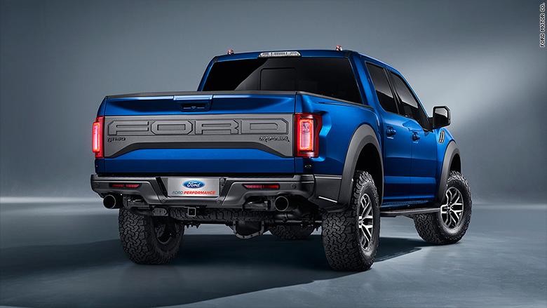 ford raptor back