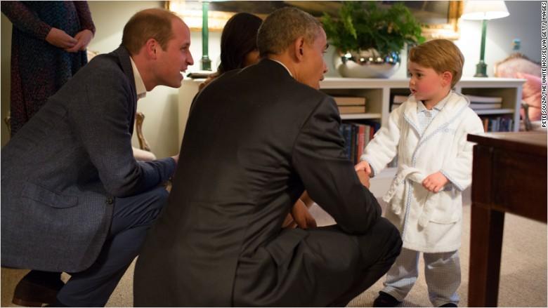 prince george robe