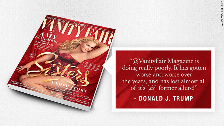 vanity fair trump tweet