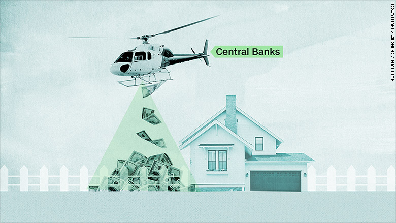 Helicopter money: central banks' last resort
