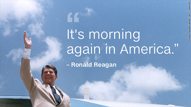 morning in america reagan