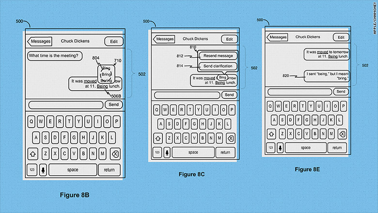 apple autocorrect patent 2