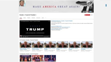 Political ads lighting up YouTube