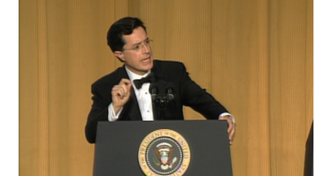Watch Stephen Colbert At The 2006 White House Correspondents Dinner
