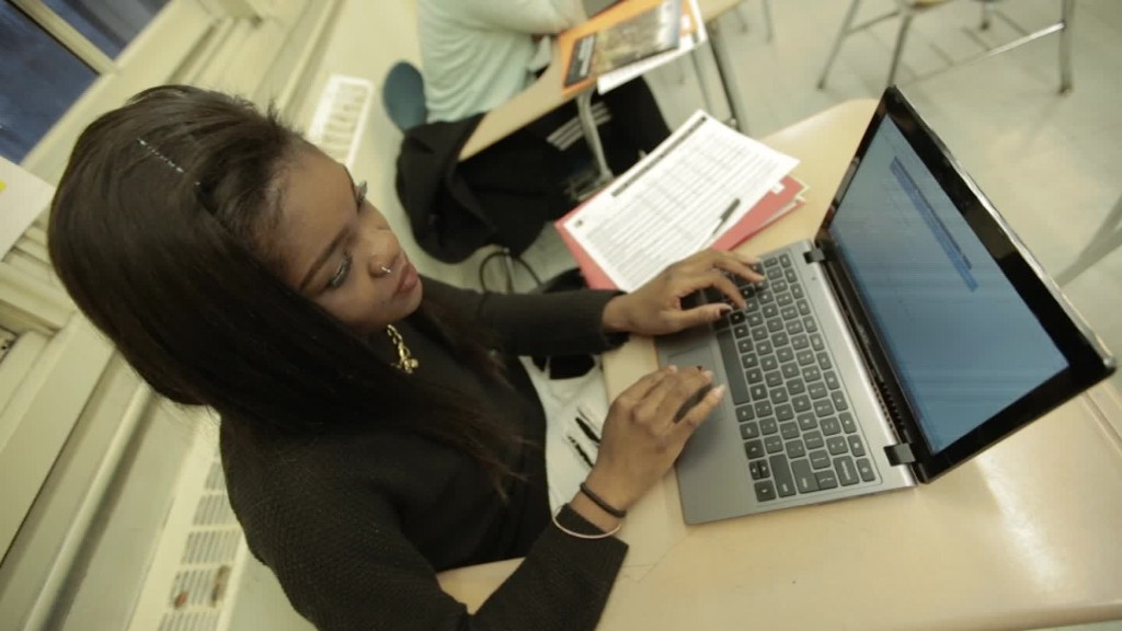 Applying to college from one of NYC's poorest neighborhoods