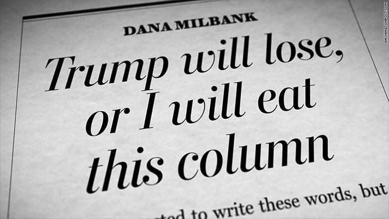 dana milbank headline
