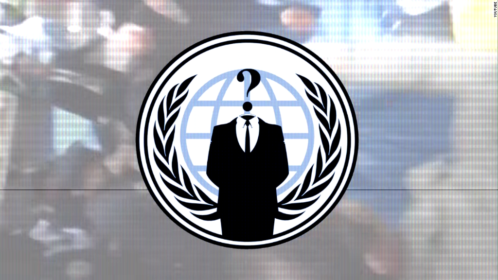 Anonymous targets central banks