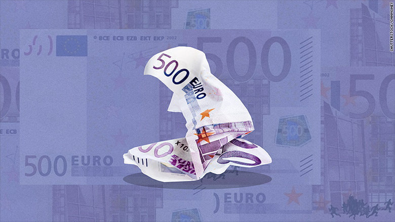 500 Euro Bill Is Being Killed Off