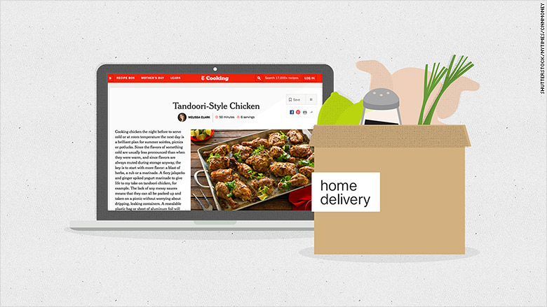 New york times gets into food delivery forumfinder Images