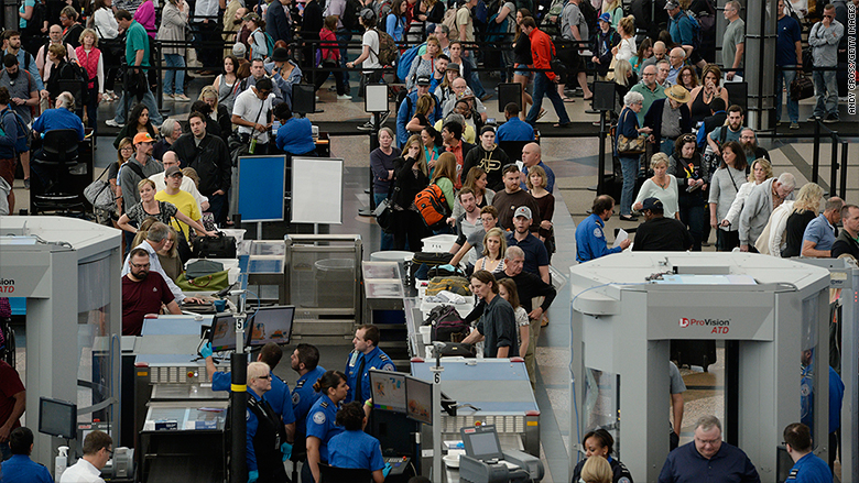 Expect Epic Lines At The Airport This Summer