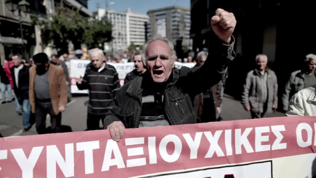 Greek debt crisis: Can you spot the difference?