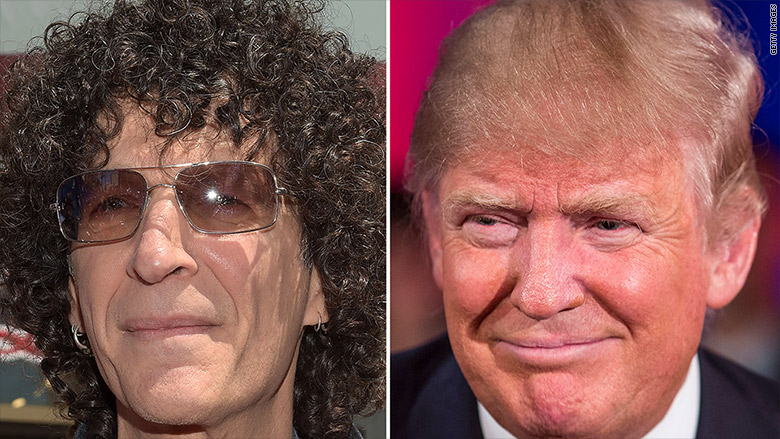 donald trump howard stern