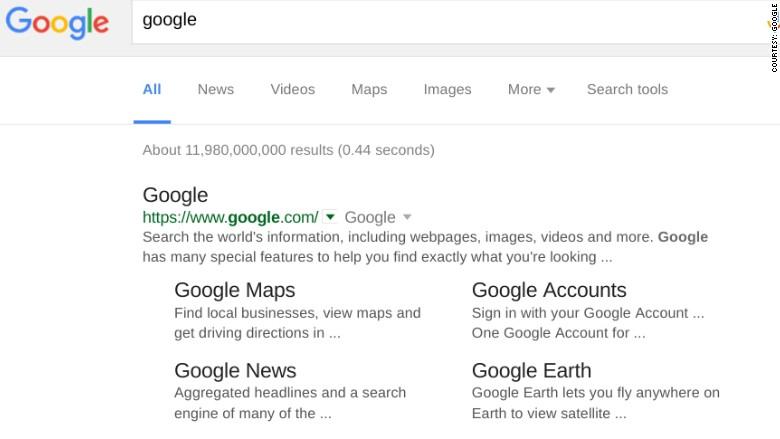google black results