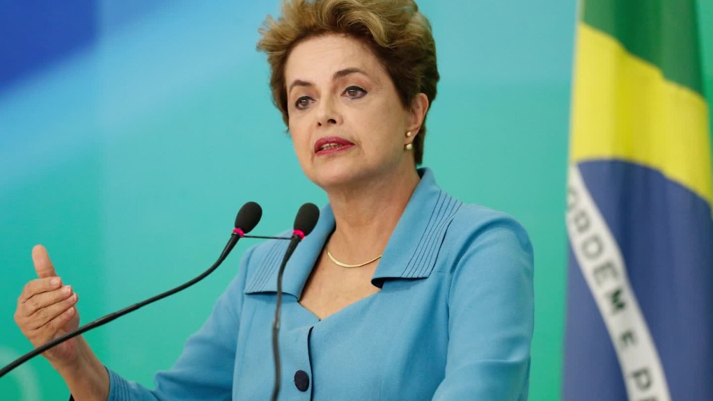 Brazilian President Rousseff impeached