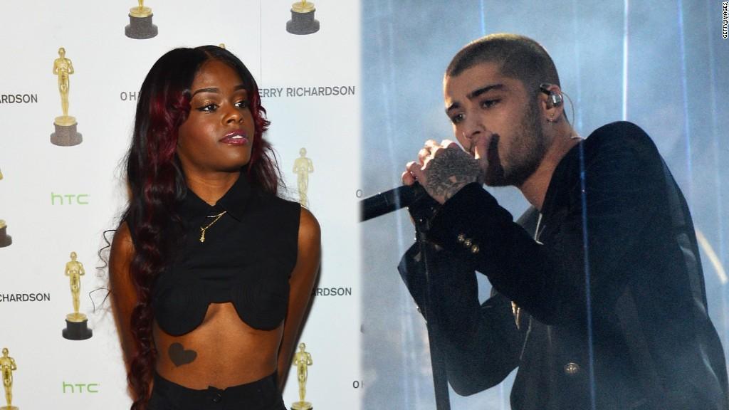 Azealia Banks' racist Twitter rant at Zayn Malik