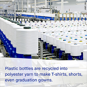 The company turning 4 billion plastic bottles into clothes