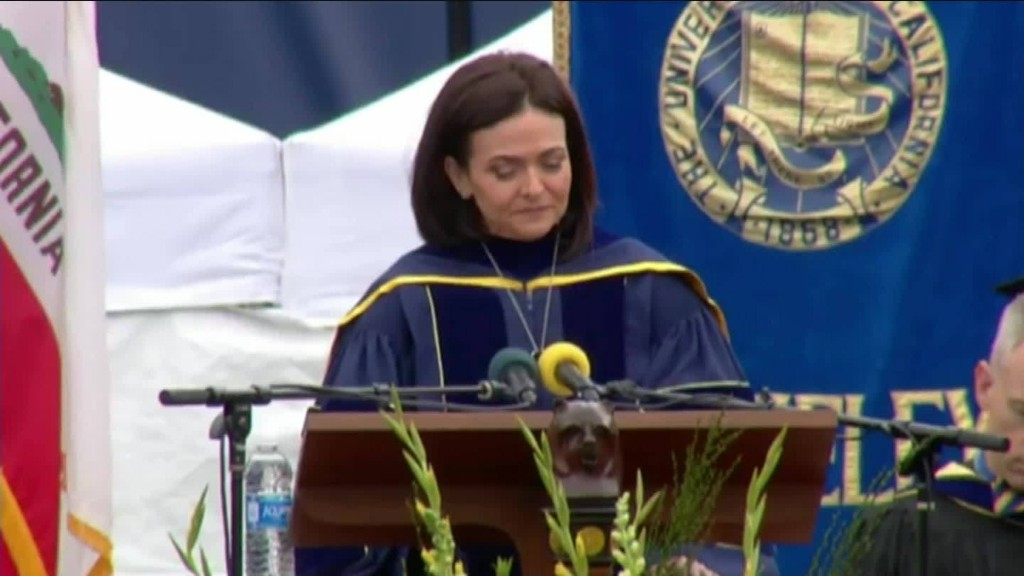 Sheryl Sandberg talks about husband's death