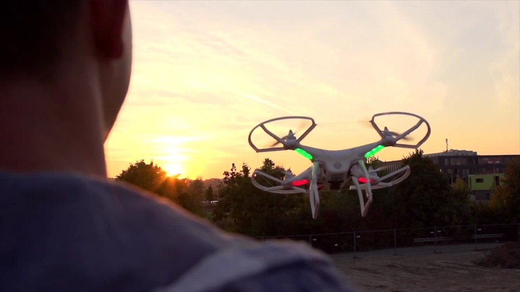 The Chinese startup leading the drone industry