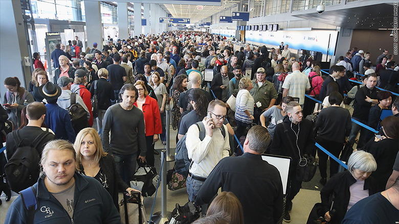 O'Hare security lines