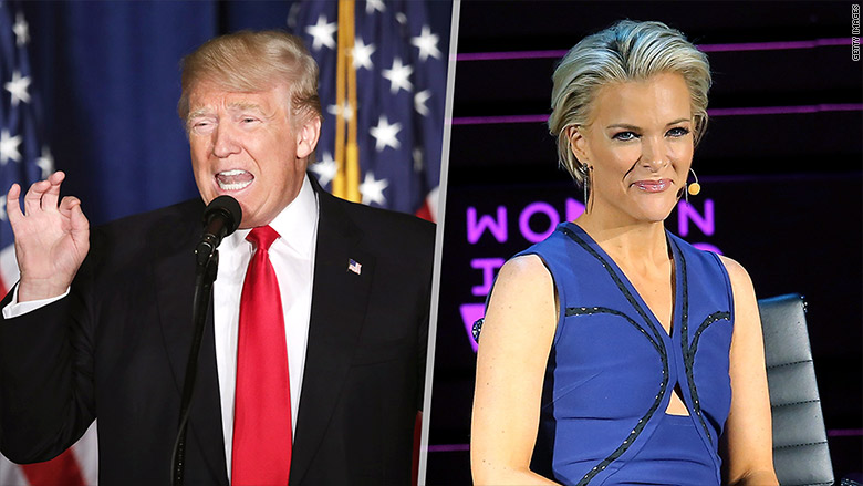 trump megyn kelly split