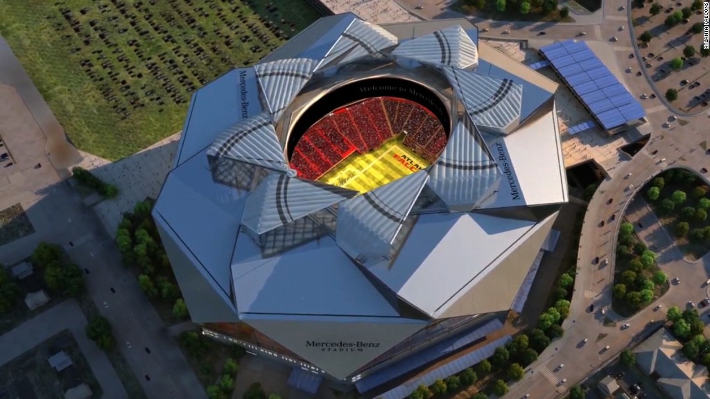 Atlanta Falcons owner on stadium food pricing