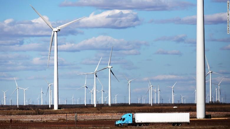 batteries wind turbines texas