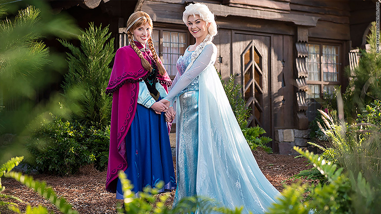 frozen attraction