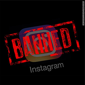 banned china instagram