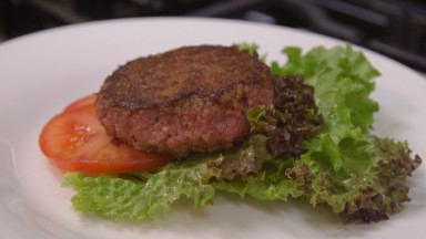 Beyond Meat's burger drips canola oil not blood