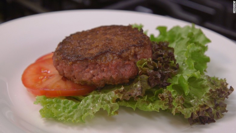 beyond meat plant burger