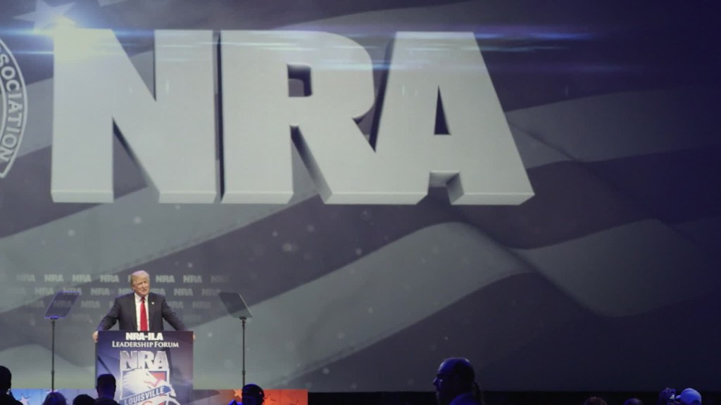 The NRA endorses Donald Trump, but do its members?