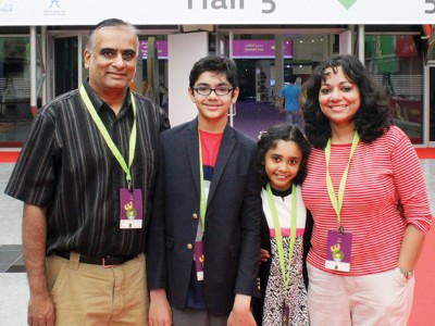 tanishq abraham family photo