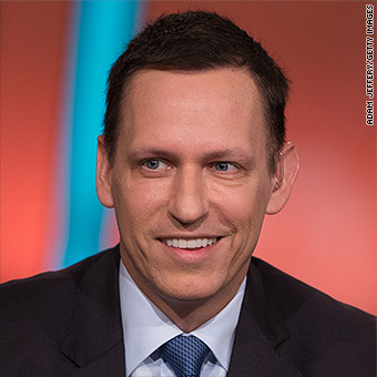 100 days into Trump presidency, where is Peter Thiel?