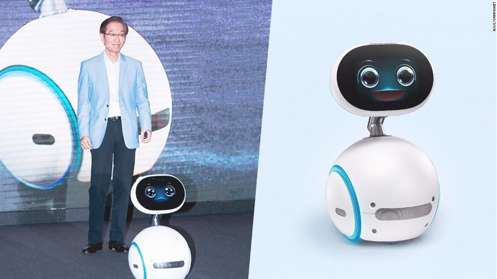 New robot aims to assist with elder care