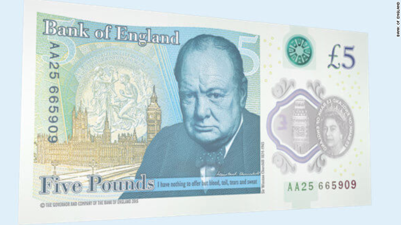 five pound note 2
