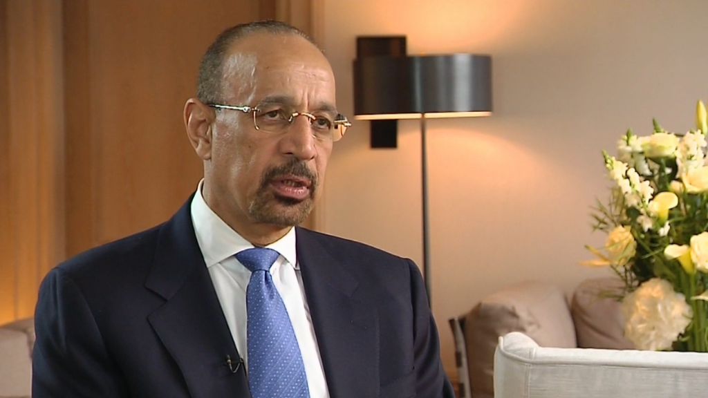 Saudi oil minister: Supply and demand have converged