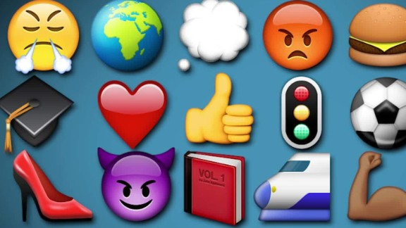Emoji fans meet up in San Francisco to celebrate the tiny icons