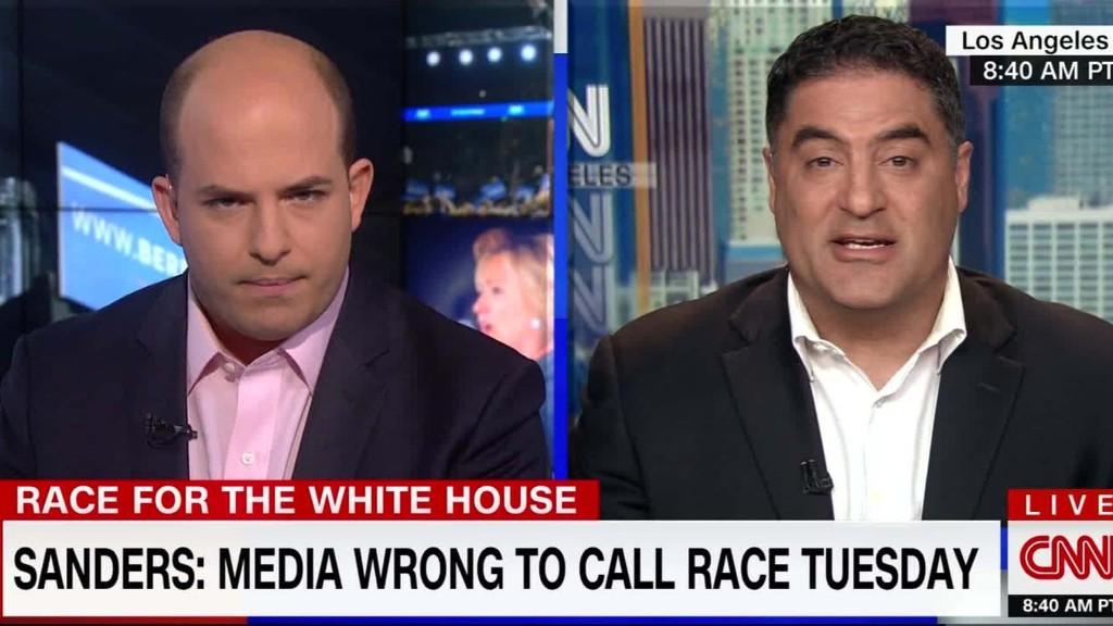 Cenk Uygur criticizes coverage of Bernie Sanders