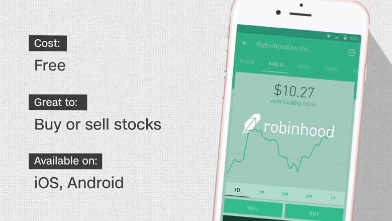 Robinhood 10 Best Investing Apps And Websites Cnnmoney