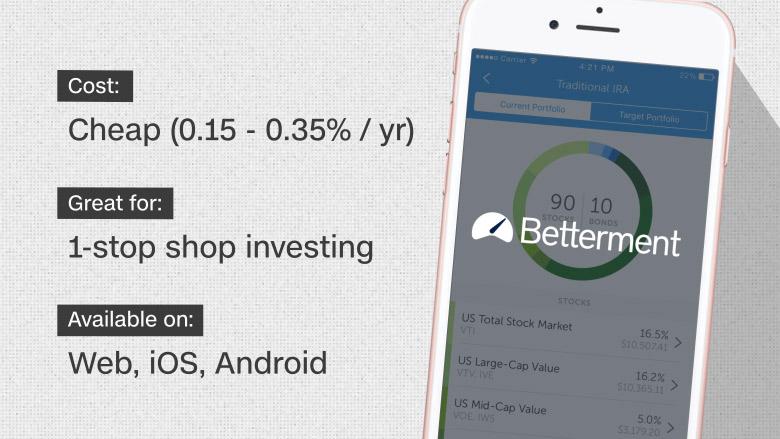 best investing apps 2 betterment