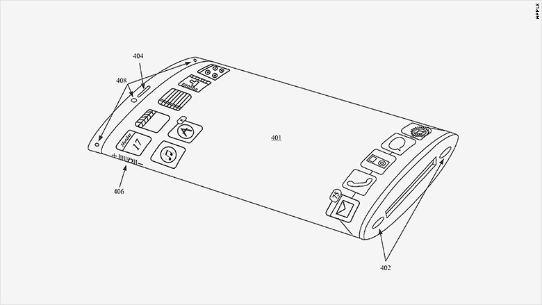 apple wrap-around patent
