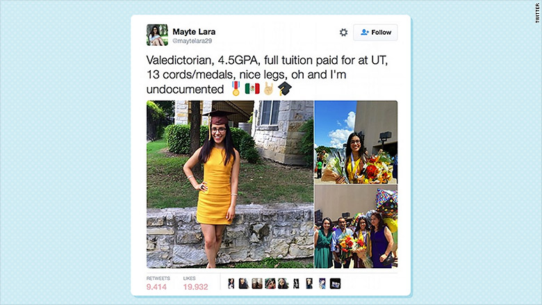 undocumented mayte lara tweet