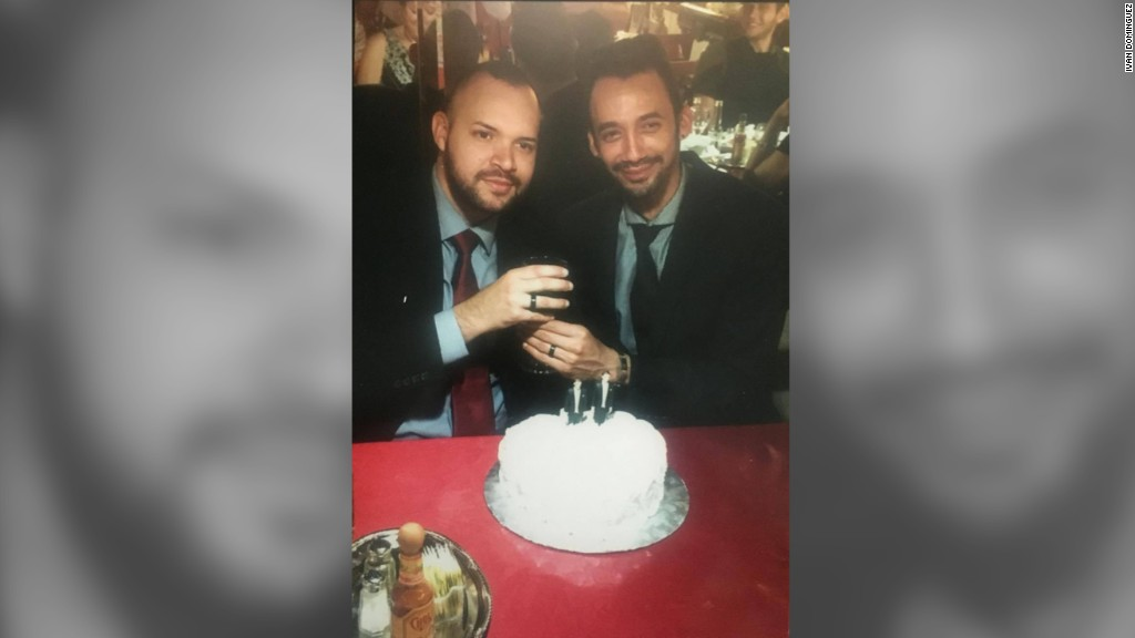 Orlando shooting victim remembered by his husband