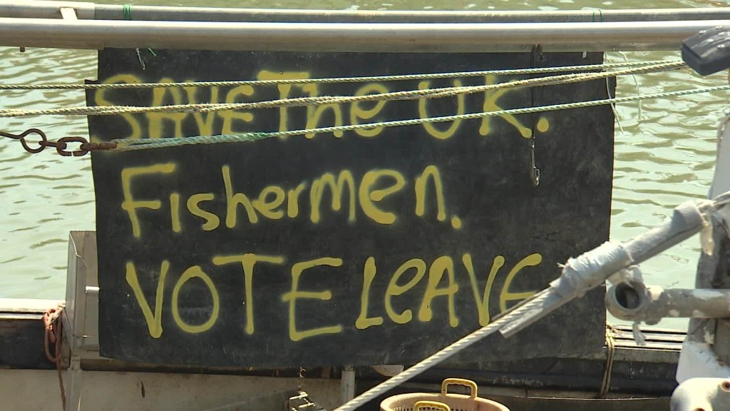 Fishermen chart course towards Brexit