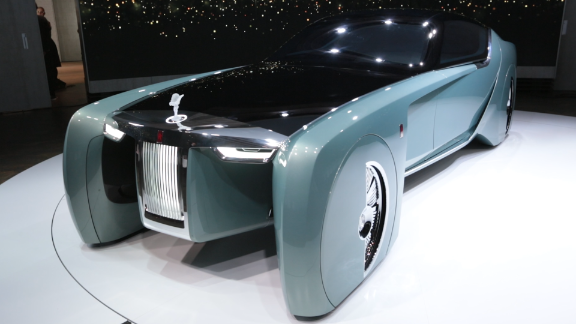 The Rolls-Royce of the 22nd century won't need a chauffeur